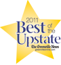 2011 Best of the Upstate Award given to The Holland Eye Center, Greenville, South Carolina