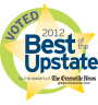 2012 Best of the Upstate Award given to The Holland Eye Center, Greenville, South Carolina